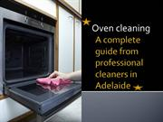 Super Easy Ways to Clean Your Oven in Adelaide