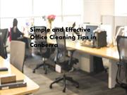 Easy and Effective Office Cleaning Tips in Canberra