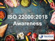 ISO 22000:2018 Food Safety Management System Awareness