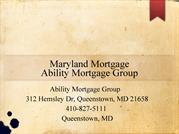 Maryland Mortgage - Mortgage Rates Maryland)
