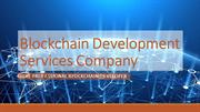 Top Rated Blockchain Development Services Company