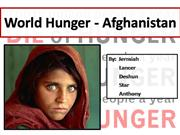 World Hunger - Afghanistan - Final