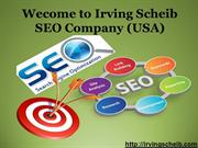 Irving Scheib Best SEO Company in California, Los Angeles (USA)