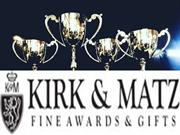 Metal Trophies - Kirk and Matz - Fine Awards and Gift