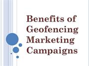 Benefits of Geofencing Marketing Campaigns