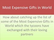 most expensive gifts
