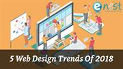 Top 5 Web Design Trends of 2018