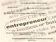 1 - Building your dream of entrepreneurs