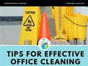 Concentrate on your Own Competencies in a Clean Office