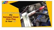 How to Determine the  Damaged Diesel Glow Plug in Your Car