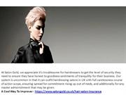hairdressing public liability insurance