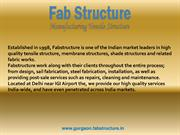 Tensile Structure In Gurgaon , Tensile Structure Manufacturer