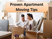 Proven Apartment Moving Tips