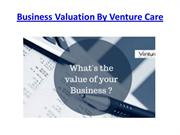 Business Valuation By Venture Care