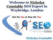 Nicholas Constable the Best SEO Company, Weybridge, London