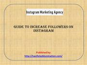 Guide to Increase Followers on Instagram