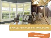 LAKEVIEW BLINDS awnings & shutters