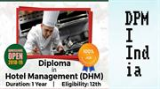 Diploma in hotel management in Delhi NCR