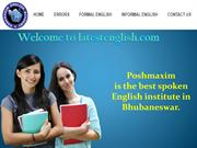 Best spoken English institute in Bhubaneswar