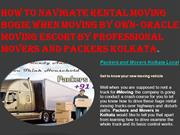 How To Navigate Rental Moving Bogie When Moving By Own- Oracle Moving