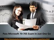 Microsoft 70-705 Questions Answers