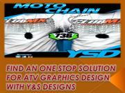 FIND AN ONE STOP SOLUTION FOR ATV GRAPHICS DESIGN WITH Y&S DESIGNS
