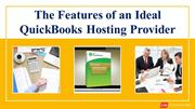 The Features of an Ideal QuickBooks Hosting Provider