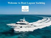 Welcome to Boat Lagoon Yachting