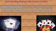 Best Cheating Playing Cards in Delhi