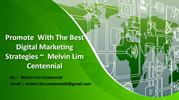 The Development Of Digital Marketing  Melvin Lim Centennial Business