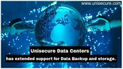 Unisecure Has Extended Support For Data Backup and Storage.
