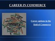 career options in the field of commerce