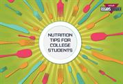Top Nutrition Tips For College Students
