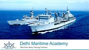 Delhi Maritime Academy - Available Courses (Sept '18)