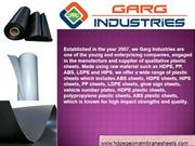 HDPE Geomembrane Sheets Manufacturer & Supplier India