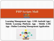 Learning Management App - LMS Android App - Mobile Learning Platform A