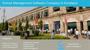 School Management System ERP Software Company koondapur, Hyde Credo -