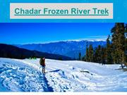 CHADAR TREK 2018 – THE FROZEN RIVER TREK