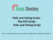Polls and Voting Script - Php Poll Script - Polls and Voting Script-co
