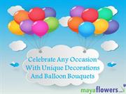 Celebrate Any Occasion With Unique Decorations And Balloon Bouquets