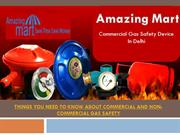 Commercial Gas Safety Device in Delhi  Amazingmart - +91 9015735108