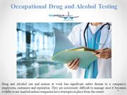 Occupational Drug and Alcohol testing