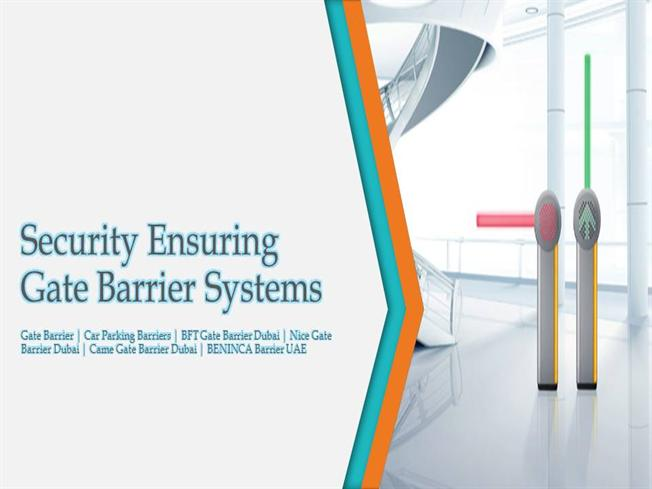 Security Ensuring Gate Barrier System | Gate Barrier |authorSTREAM