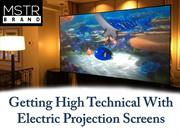 How to Select the Perfect Electric Projection Screen