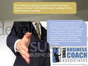 Free Small Business Coaching by SBCA – Get Details Here