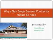 Find affordable and best General Contractor In San Diego
