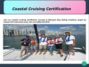 Coastal Cruising Certification-