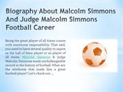 Biography About Malcolm Simmons And Judge Malcolm Simmons Football Car