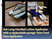 Get Long Handled Lotion Applicator  with a replaceable sponge  from Fo