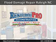 Flood Damage Restoration Wake Forest NC